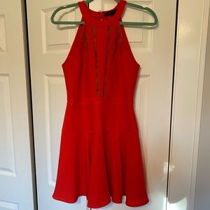 BCBGeneration Red Cocktail Dress. Size 2.